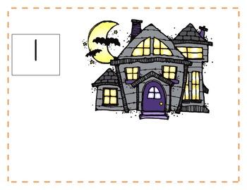 Halloween Math Game: Creepy Counting 1-10