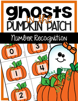 Halloween Math Game - Number Recognition (0-100)