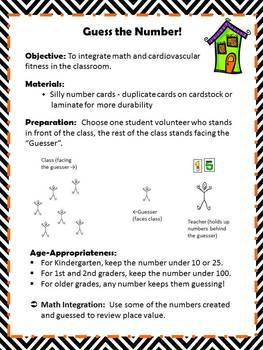 Halloween Math Game Guess the Number