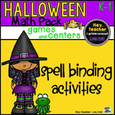 Halloween Math Games and Activities (Pre-K, Kindergarten, 1st Grade)
