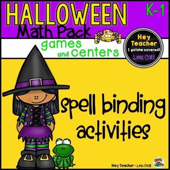 Halloween Math Games and Activities (Pre-K, Kindergarten, 1st Grade)
