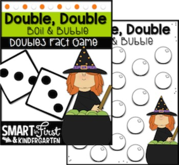 Halloween Math Game Packet