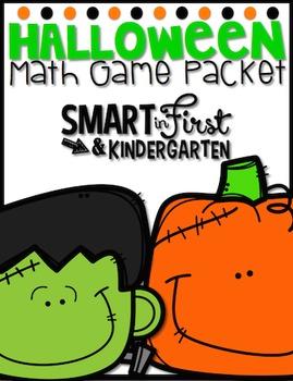 Halloween Math Game Packet
