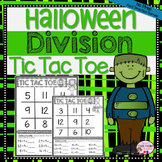 Halloween Division Math Center Game