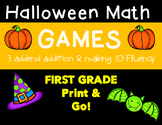 Halloween Math Games!