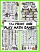 Halloween Math Games - 3rd Grade