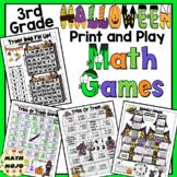 3rd Grade Halloween Math: 3rd Grade Math Games