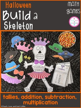 Halloween Math Games - Build A Skeleton