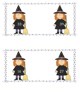 Halloween Math Games Bundle