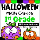 Halloween Math Games First Grade: Fun Halloween Math Center