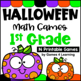 Halloween Math Games 1st Grade