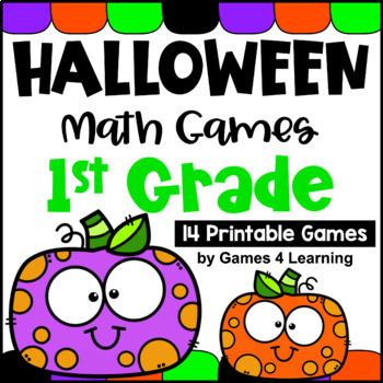 Halloween Math Games First Grade: Fun Halloween Activities