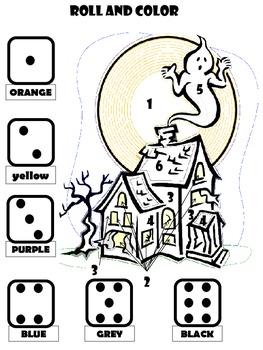 Halloween Math Games (Primary)