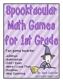 Halloween Math Games – Spooktacular Math Games for 1st Grade