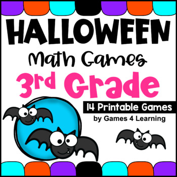 Halloween Activities: Halloween Math Games 3rd Grade: Halloween Math Activities