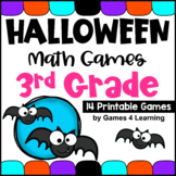 Halloween Math Games 3rd Grade with Mummies, Ghosts, Bats and More