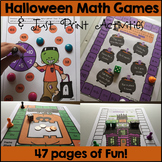 Halloween Math Games and Activities