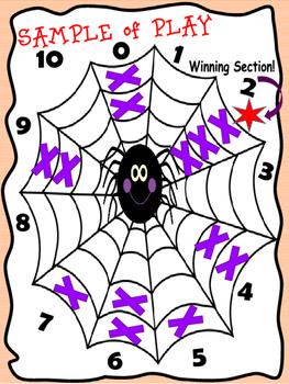 Halloween Math Games for Kindergarten to Grade 2