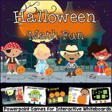 Halloween Math Games (PowerPoint Presentation)