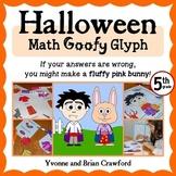 Halloween Math Goofy Glyph (5th Grade Common Core)