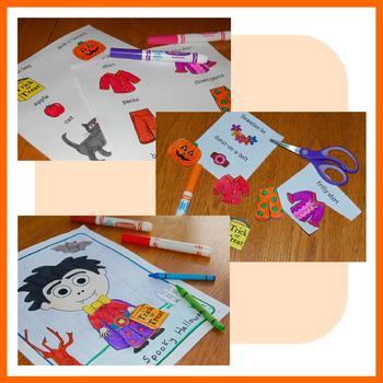 Halloween Math Goofy Glyph (8th grade Common Core)