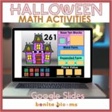 Halloween Math Google Slides 2nd Grade Activities