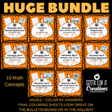 Halloween Math Gotta Luv It Bundle