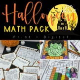 Halloween Math Activities: Halloween Math Graphs,Halloween