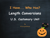 Halloween Math: I Have, Who Has - Length Conversions U.S. Customary Unit