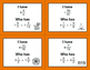 Halloween Math: I Have, Who Has - Multiplying Mixed Fractions
