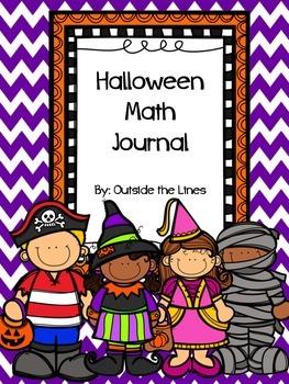 Halloween Math Journal 1st