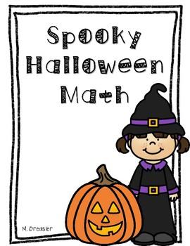 Halloween Math Journal