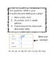 Halloween Math Journal Entries (Aligned to 1st gr. Common Core)