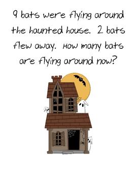 Halloween Math Journal Prompts