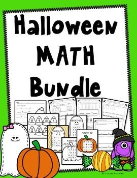Halloween Math Kindergarten