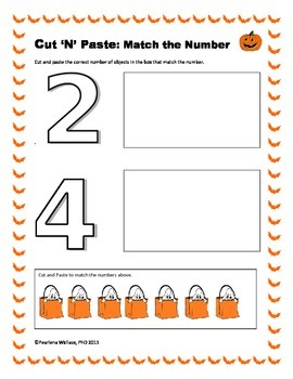 Halloween Math Activities Kindergarten CCSS Aligned