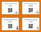 Halloween Math: Length Conversions U.S. Customary Unit QR Code Task Cards
