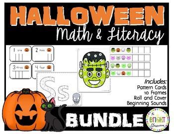 Halloween Math & Literacy *BUNDLE*