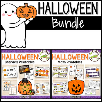 Halloween Math & Literacy BUNDLE - Pre-K | Preschool | Kinder