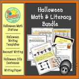 Halloween Activities Math and Literacy Bundle