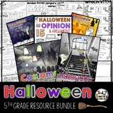 Halloween Activities Math Language Games Reading STEM & More FIFTH GRADE BUNDLE
