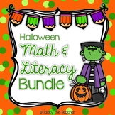 Halloween Math & Literacy Bundle | EASY PREP Common Core Activities for K-2nd