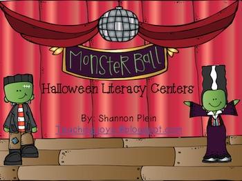 Halloween Math & Literacy Centers!