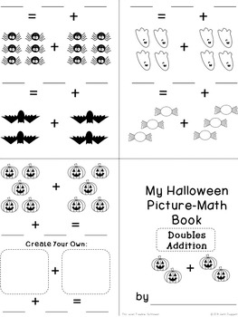Halloween Math + Literacy Mini-Pack {Four-eyes Freebie!} Lower Grades