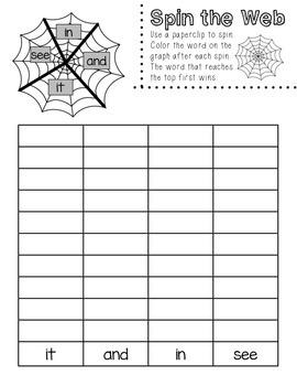 Halloween Math & Literacy Pack- Kindergarten