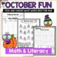 Halloween Math & Literacy