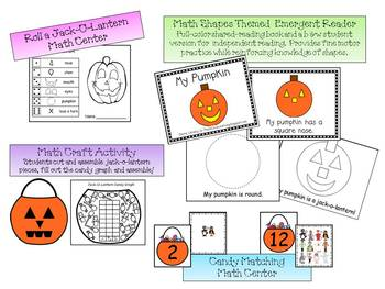 Halloween - Math & Literacy Unit