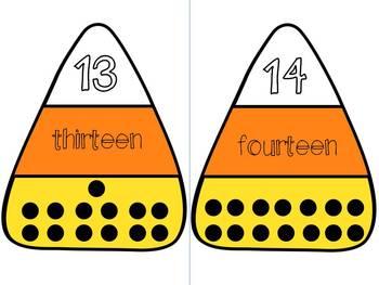 Halloween Math Matching Game
