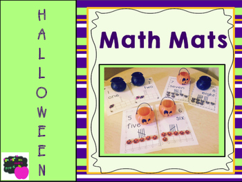 Halloween Math Mats *FREEBIE*