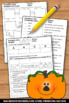 Pumpkin Math Worksheets, Measuring Pumpkins, Halloween Activities Math